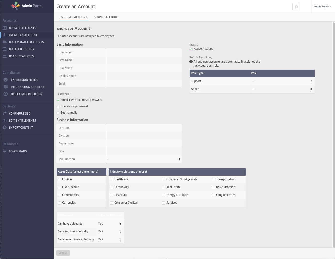 Symphony admin guide click create a user on the left navigation menu you will see the create new user form as shown below 1betcityfo Image collections